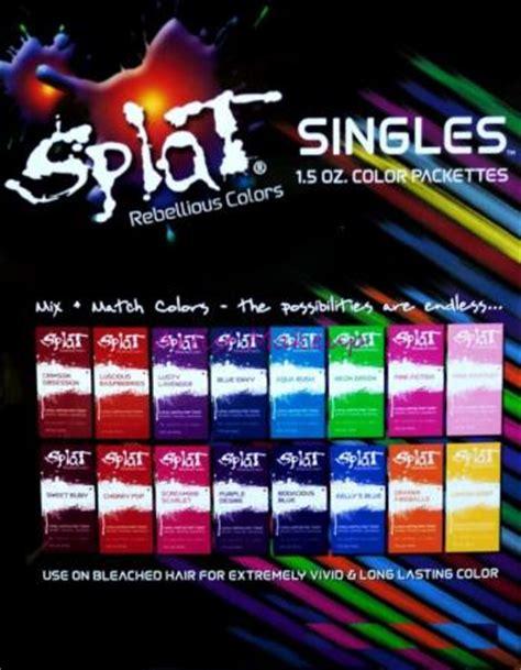 how long does punky colour hair dye last splat new singles hair color dye foil packs 1 5 oz punk