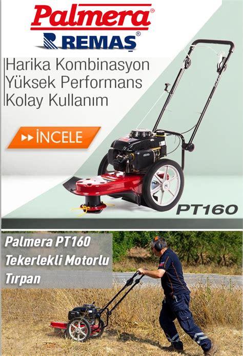 palmera pt tekerlekli  hp benzinli motorlu tirpan ot