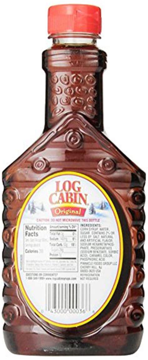 log cabin  high fructose corn syrup original  oz pack   food beverages tobacco food
