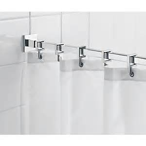 Moen Shower Curtain Hooks Shower Rails And Curtains Shower Accessories Wickes Co Uk