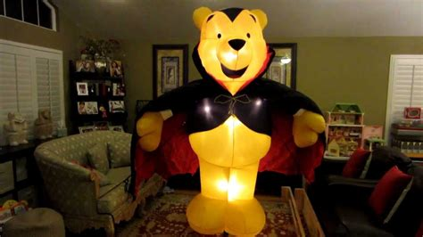 imagenes de halloween de winnie pooh giant disney winnie the pooh halloween inflatable youtube