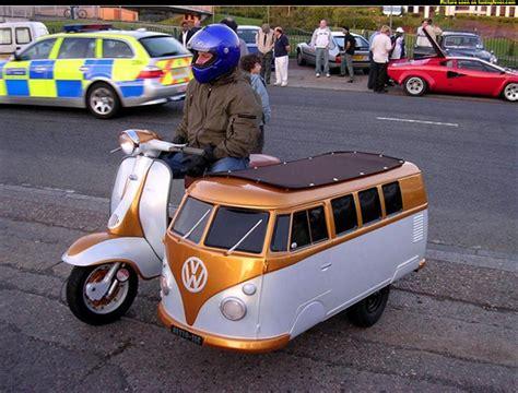 volkswagen bus side motoblogn lambretta tv 175 volkswagen bus sidecar
