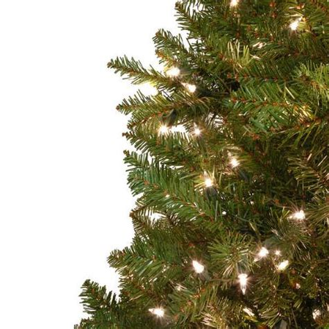 14 foot fairhaven pre lit clear artificial tree bronner