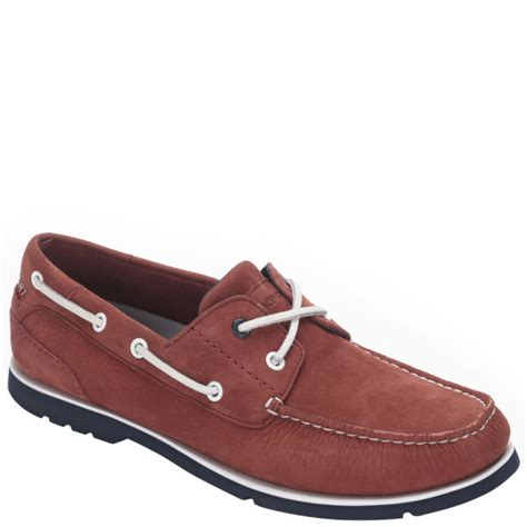 rockport s summer tour 2 eye boat shoes navy