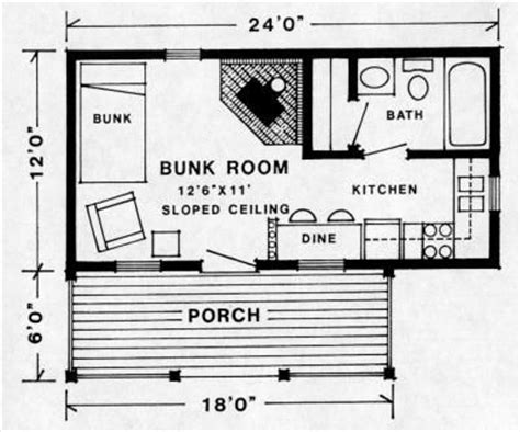 12x24 cabin floor plans studio floor plan 12x24 cottage ideas pinterest