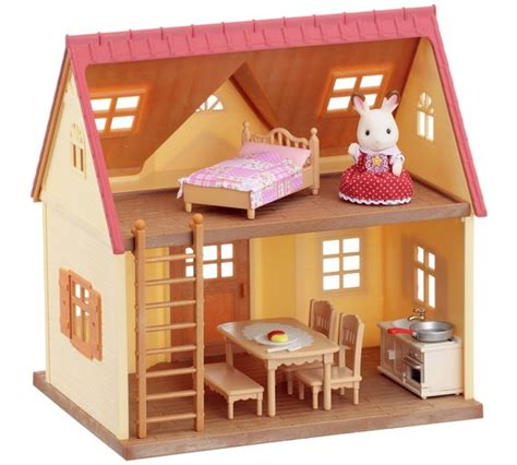 sylvanian families cottage buy sylvanian families cosy cottage home at argos co uk