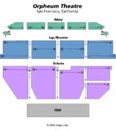Orpheum Floor Plan Orpheum Theatre Ca Seating Chart Orpheum Theatre Ca