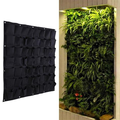 Vertical Garden Ebay 56 Pocket Hanging Vertical Garden Planter Indoor Outdoor