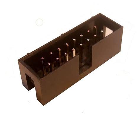 2x8 Pin Header shrouded box header 2x8 pin boxhead28