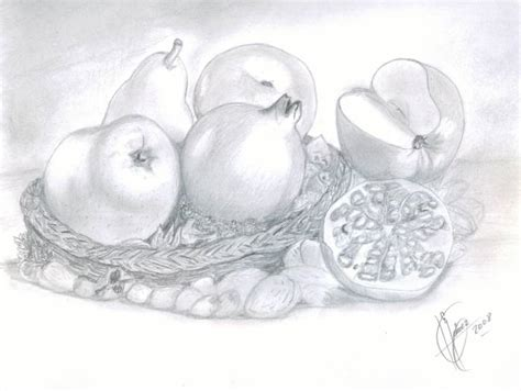 imagenes de bodegones a lapiz dibujos de bodegones de frutas imagui