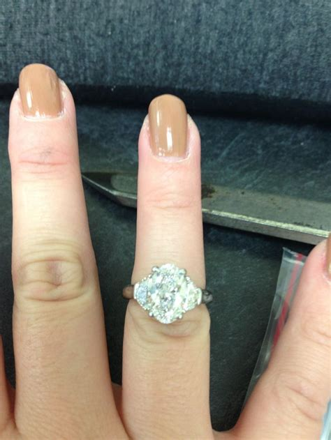 2 0 Carat Engagement Ring by 2 Carat Oval Ring Show Me Your Favorite Style