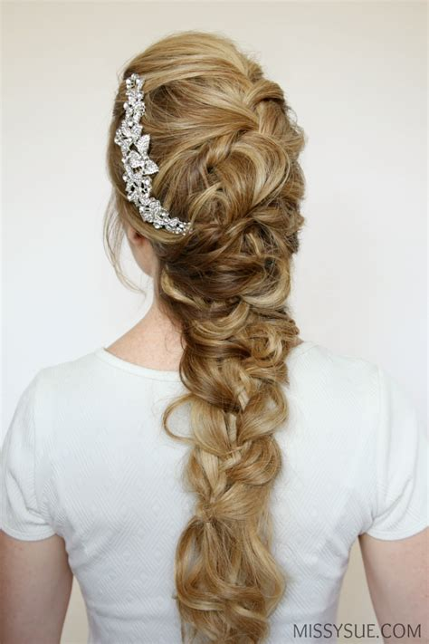 fancy a change of hair stule fancy formal braid missy sue