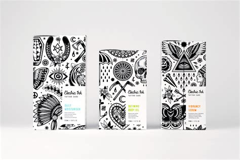 Tattoo Leeds Food | new packaging for electric ink by robot food bp o