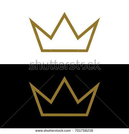 vector crown logo design abstract logo template vector gold crown logo template stock vector 656299963 shutterstock