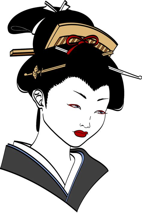 geisha cartoon cliparts co