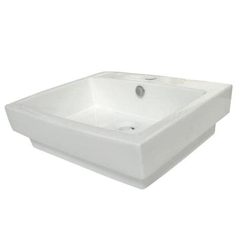 kingston brass console sink kingston brass 4 3 4 in console sink basin in white