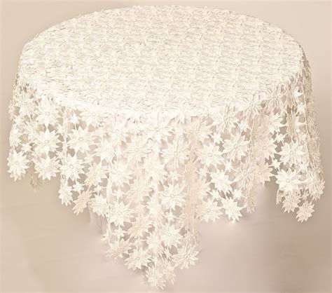 table toppers white lace table topper grace textile