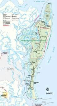 map of cumberland island outdoors
