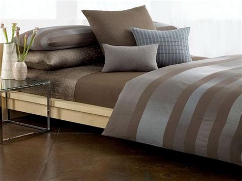 Calvin Klein Simple Comforter by Bloombety Brown Calvin Klein Bedding Exclusive Calvin