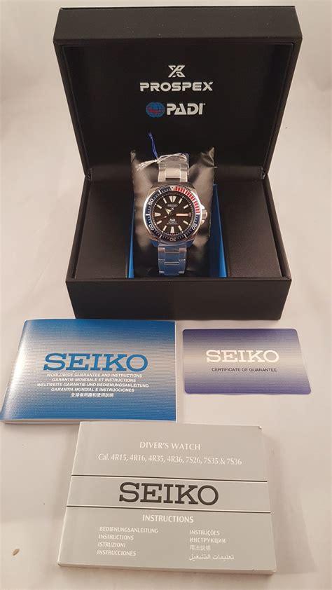 Seiko Prospex Padi Diver Samurai Mens Srpb99k1 Srpb99 Original seiko prospex samurai padi srpb99 srpb99k1 automatic mens limited edition 4954628219497 ebay
