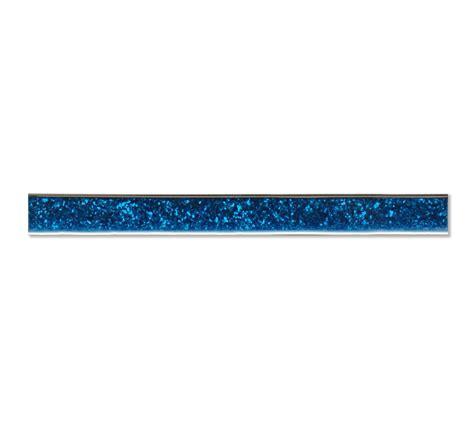 Tile Bordir Glitter blue glitter 60 x 3 2cm glass border tiles mosaic