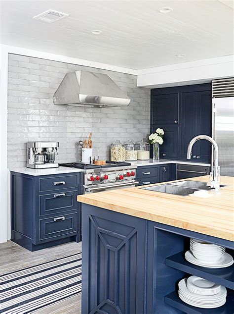 navy blue kitchen cabinets small interior ideas interior design ideas home bunch