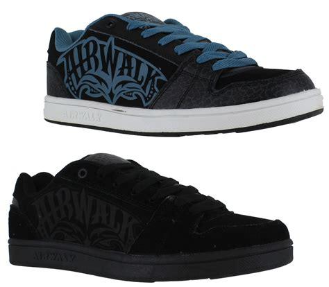 airwalk casual orignal boys junior airwalk casual skate lace up padded shoes
