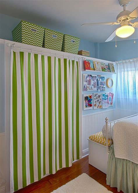 closet curtain ideas for bedrooms 17 best ideas about curtain closet on pinterest baby