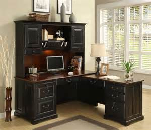 Desk And Hutch For Small Spaces Stunning Office Desk With Hutch Ideas To Maximize Space In