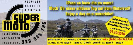 Motorradverleih Playa De Palma by Moto Lanzarote Motorradverleih Exkursionen