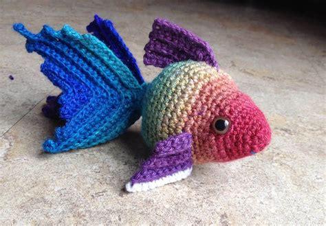 crochet pattern free video crochet goldfish patterns free watch the video tutorial