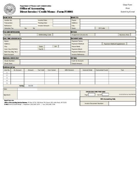 Top 7 Credit Memo Templates Free To Download In Pdf Format Direct Billing Form Template