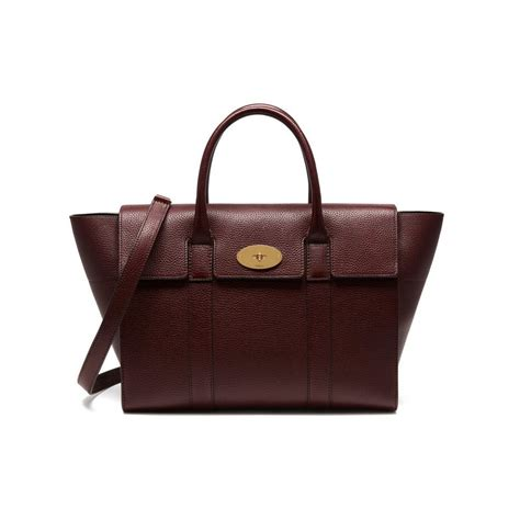 Mulberry Bayswater Handbag by Mulberry Updated Their Classic Bayswater Handbag