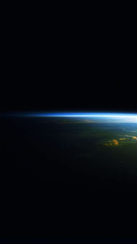wallpaper earth android earth at night horizon space blue light android wallpaper