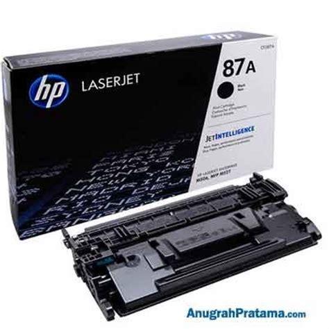 jual hp cf287a 87a black laserjet toner cartridge supplies terbaru harga murah dan bergaransi