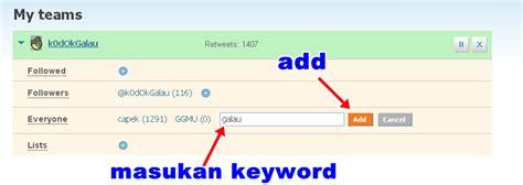 cara membuat twitter auto retweet cara membuat otomatis auto retweet untuk twitter