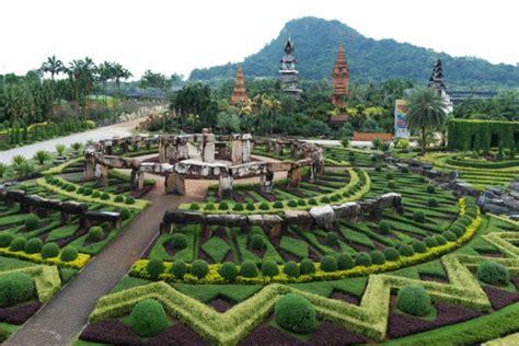 nong nooch tropical botanical garden bebas polusi ini 5 taman bunga terindah di dunia