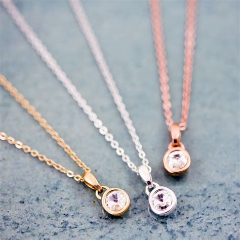 small gemstone necklace by j s jewellery
