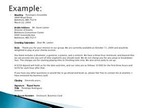 Business Letter Salutation For Group Business Letters