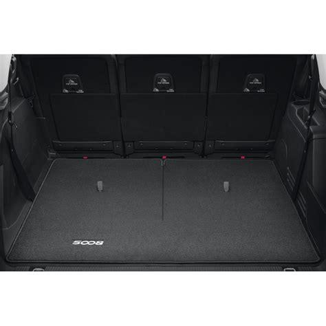 peugeot 5008 trunk luggage compartment mat reversible peugeot new 5008 p87