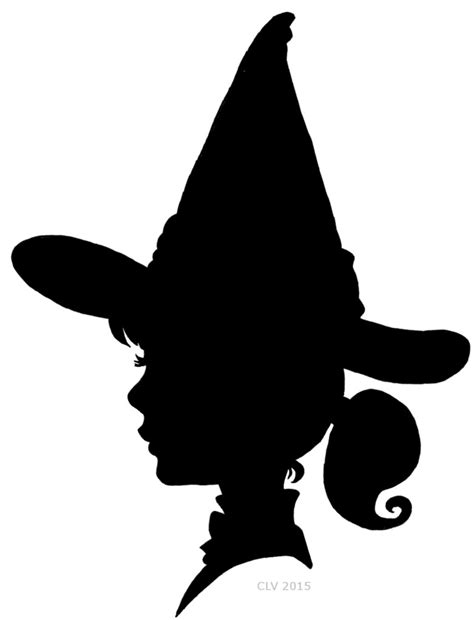 witch silhouette template witch silhouette by crislavenuta on deviantart