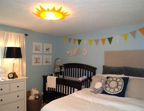 Guest Bedroom Nursery Decora 231 227 O Para Quarto De Beb 234 Junto O Casal