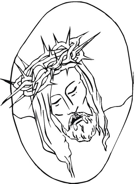 christ colouring pages
