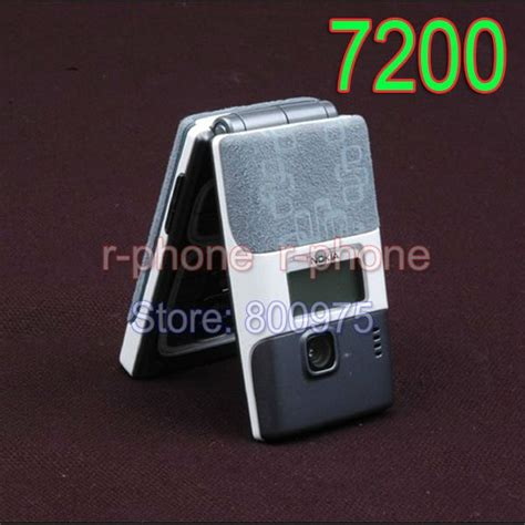 Karet Onoff Nokia 7200 100 original nokia 7200 mobile cell phone gsm 900 1800 dualband unlocked in mobile phones from