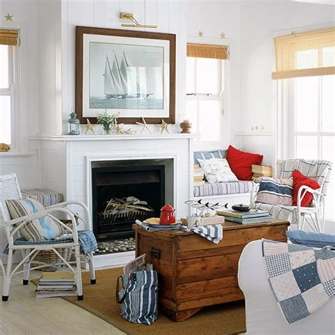 Nautical Themed Living Room | nautical theme living room white living room ideas