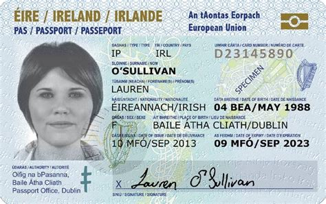 ireland first to roll out new passport cards
