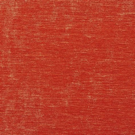 Bright Upholstery Fabric by K0150f Bright Orange Solid Shiny Woven Velvet Upholstery