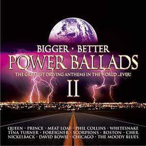 Cd Toto Best Ballads bigger better power ballads ii co uk