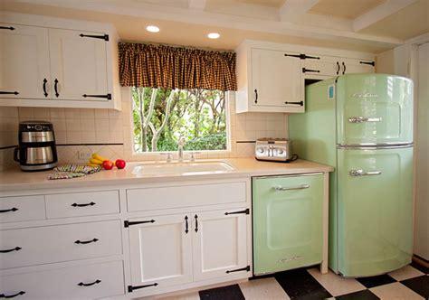 vintage green kitchen buy retro refrigerator studio size big chill