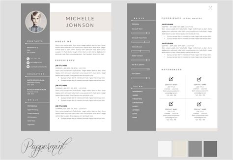 resume design templates downloadable word collage images full doc 840997 sle format of one page resume bizdoska com